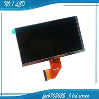 Wholesale Display Lcd Repair Tablet - Wholesale-New 7' inch LCD display FPC0705035 - B for Tablet Replacement Repair LCD screen Free shipping