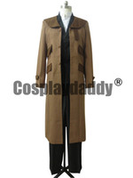 Compra Full Metal Alchimista Cosplay-<b>Fullmetal Alchemist Cosplay</b> Edward Elric Brown Trench Coat Costume H008