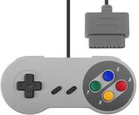 Wholesale Nintendo Bit - NEW 16 Bit Controller for Super for Nintendo SNES System Console Control Pad
