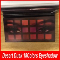 Wholesale Cheap Shimmer Eyeshadow - New DESERT DUSK Eyeshadow 18 colors Palette Shimmer Matte Eye shadow Pro Eyes Makeup Cosmetics Cheap