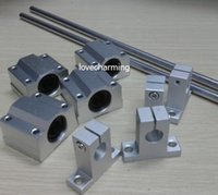 4PCS 8mm x 600mm Bearing Steel Cylinder Liner Rail Linear Shaft Optical Axis