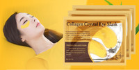 Wholesale 24k Eye Mask - 24k Gold Eye Crystal Collagen Anti-Wrinkle Anti-Ageing Under Eye Gel Mask Facial+ Free Shipping + Free Gift
