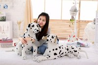 Wholesale Dalmatian Toy Dogs - Stuffed Animal Dogs Plush Toys Spotted Dog Party Animal Dolls Cute Soft Dalmatians Gifts for Kids Home Decorative 45cm