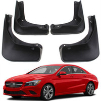 Wholesale Fender Splash - Car styling 4pcs Splash Guards Mud Guards Flaps fender Fit for 2012- 2016 Benz CLA C117
