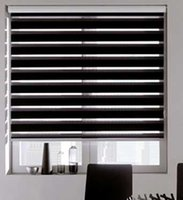 Wholesale quality double layer roller zebra blinds made to order easy to install