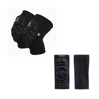 Wholesale Mountain Motors - Wholesale- Elbow Knee Protection Adult Mountain Bike Motor Motocross Downhill Motorcycle Racing Skiing Sponge Pads Sports Elbow Knee Pads