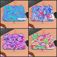 tapetes de mouse impressos venda por atacado-Top Venda Lilly Pulitzer Seashell Impressão Anti-Slip Nova Chegada Personalizado Mouse Pad PC Do Computador Agradável Gaming Mousemat Como Presente