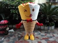 Wholesale Ice Cream Mascot Costumes - Hotsale Mascot Costume Adult Size High Quality Ice Cream Character Costumes Fancy Dress Suit Free Shipping