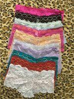 Wholesale Girls Lace Boxer Shorts - Free DHL Brand Briefs Lady Hot Sale New Underwear Cotton Panties Breathable Female Boxer Shorts Women Hipster Pants Panty Lingerie Girl SJK