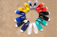 Wholesale Wholesale Nude Heels - 20 Colors 2017 Summer Style Native Jefferson Fashion Lovers Hole Shoe Brand Flat Sandals Casual Rome Shoes big size 35-44 unisex