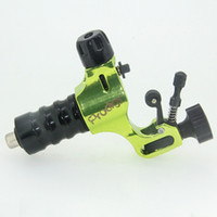Wholesale Stigma Tattoo Gun - Stigma V4 Prodigy Rotary Tattoo Machine Aircraft Alu Rotary Tatoo Gun Green Tattoo Equipment Free Shipping