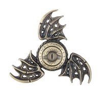Wholesale 2017 New Fidget Toy Game of Thrones Hand Spinner Metal Finger Stress Tri Spinner Dragon