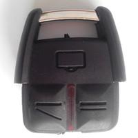 opel anahtar kasası toptan satış-Vauxhall opel corsa için yeni yedek anahtar kutu 3 düğme uzaktan anahtar boş kabuk 25 adet / grup