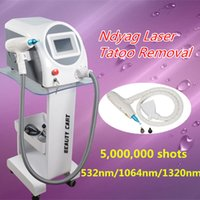 Wholesale Professional Shooting - best Professional tattoo removal machine q-switch nd yag laser tattoo removal with 5,000,000 Shoots used spa equipment CE approvel