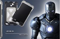 Wholesale Handbag Case For Note2 - For Samsung NOTE2   NOTE3 phone metal armor case three colors available