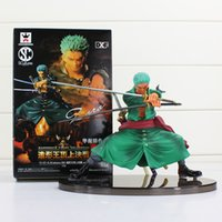 Wholesale One Piece Figure Collections - Anime One Piece Figure Decisive Battle Version Roronoa Zoro PVC Figure Toy Collection Model Toys 13cm