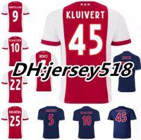 Wholesale Fc Top - Top Quality Ajax Jerseys 2017 2018 Ajax FC Soccer Jersey 17 18 Camisa KLAASSEN FISCHEA DOLBERG MILIK Jerseys Football Shirts