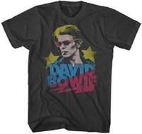 Wholesale David Bowie T Shirt - David Bowie Ziggy Stardust Mens Graphic t shirt Magic Tee top tee Cotton Hight Quality Man t-shirt Euro Size S-XXXL
