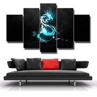5 Pcs / Set Modern Abstract Wall Art Pintura Pintura em tela para sala de estar HomeDecor Picture Beautiful picture # 107