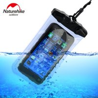 Wholesale Swimming Pool Bags - Wholesale-NH High Quality People Outdoor Travel Swimming Mobile phone Waterproof Bag Super Light Portable Practical Waterproof Diving Bags