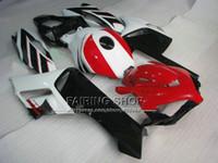 Wholesale Cbr Custom Fairings - Injection mold+Custom Paint bodywork for HONDA Motorcycle fairings kit cbr1000rr 04 05 red black bodykits CBR 1000 RR 2004 2005