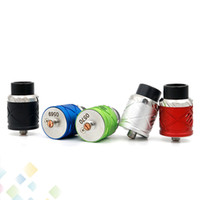 Wholesale Royal Control - Royal Hunter X RDA Rebuildable Dripping Atomizer 5 Colors Peek Insulator Adjustable Airflow Control Fit 510 E Cigarette Mods DHL Free