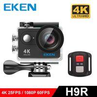 Wholesale Sd Lcd Digital Camera Mini - Original EKEN H9R H9 Action Camera HD 4K 12MP 1080P Waterproof Outdoor Sport Camera Mini DV digital Camcorders with WiFi Remote Control