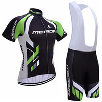Wholesale Merida Bicycle Jerseys - 2017 Merida Cycling Jerseys bib shorts set Bicycle Breathable sport wear cycling clothes Bicycle Clothing Lycra summer MTB Bike
