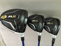 Wholesale graphite wholesale - Golf clubs M2 driver + M2 fairway woods 3# 5# Graphite shaft 3PCS M2 Golf Woods Right hand