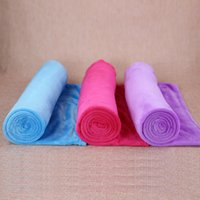 Wholesale Full Place - 2017 solid color series coral wool blanket for a variety of places blankets soft and comfortable multi-purpose blanket wholesale