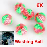 Wholesale Anion Wash Ball - 6x Washing Laundry Eco Friendly Anion Molecules Released Washing Ball Clothes