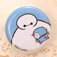 Wholesale Headset Key - Wholesale- Kawaii Cute High Quality Cartoon Candy Color Coin Purse Earphone Key Wallet Zipper Pouch Box Headset Charger Mini Bag Kid Gift