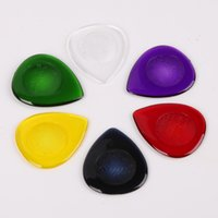 Wholesale Electric Bass Picks - Alice Durable Transparent Electric Bass Guitar Picks Shape Waterdrop Thickness 1.0 2.0 3.0 mm