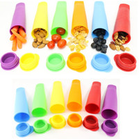 Wholesale Ice Maker Box - 1 Pcs Silicone Multi Use Snack Box Containers Ice Pop Maker Popsicle Molds - Snack Bags for Bento Box Lunch Boxes - Kids Lunch Containers