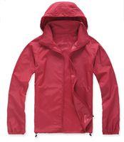 Wholesale anti uv jacket for sale - Summer New Brand Women s Men s Fast drying Outdoor Casual Sports Waterproof Skin Anti UV Jackets Coats Windbreaker Black White Plus Size XL