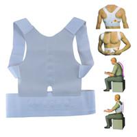 ingrosso le camicette del corpo-Humpback Band per uomini e donne con body body ortodontico supporto magnetico posteriore correttore cintura brace spalla sport sicurezza 4 9yc F