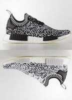 Wholesale R1 Racing - Men Women Athletic New Released Human Race NMD R1 Zebra Boost 36-45 With Box Free Drop Shipping