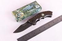 Wholesale Titanium Strider Tool - New Strider 186 Mick Titanium Tactical Folding Knife Fast Open 440C 57HTC Outdoor Camping Hunting Survival Pocket Knife Utility EDC Tools