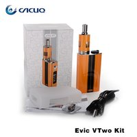 Wholesale Ego Vw - Authentic Joyetech Evic VTwo 60W Full Kit Ecigarettes Vape Battery with Temperature Control VW Mods Ego One Mega Vaporizer Tank