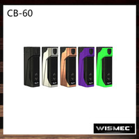 Wholesale Checking Battery - Wismec CB-60 Box Mod Check Bunny 60W Inbuilt 2300mAh Battery 0.91inch OLED Screen Tri-button Design 100% Original
