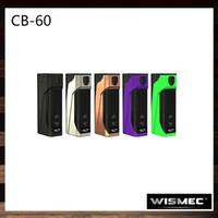bunny kutuları toptan satış-Wismec CB-60 Kutusu Mod Kontrol Bunny 60 W Dahili 2300 mAh Pil 0.91 inç OLED Ekran Tri-düğme Tasarım 100% Orijinal