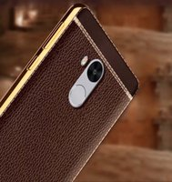 Wholesale Note Ii Leather Case - Litchi Grain luxury Plating Soft Leather TPU Phones Case For Huawei Honor 5A Y6 II Honor 5C 5X P10 Xiaomi Redmi Note 4X Redmi 4X 4A Note 5A
