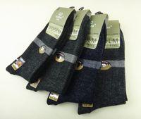 Wholesale Man S Winter Socks - 10 pairs dozen Winter Gubini men 's cashmere socks winter thickening wool socks gift socks wholesale