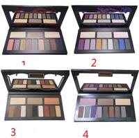 Wholesale Matt Shadows - HOT New Shade & Light Eye Contour Palette 12 colors Matt eye shadow palette eyeshadow 30g DHL Free shipping+GIFT