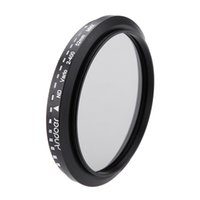 Wholesale Andoer mm ND Fader Neutral Density Adjustable ND2 to ND400 Variable Filter for Canon Nikon DSLR Camera D1920