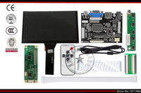 7 pollici Raspberry Pi Display LCD Monitor TFT con touch screen capacitivo Kit Scheda driver VGA input HDMI Spedizione gratuita