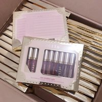 Wholesale high quality brand lipstick for sale - In Stock New Makeup brand Stila lip Gloss set Liquid lipstick High quality DHL shipping