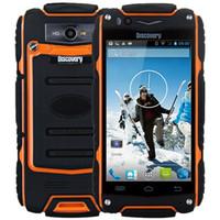 telefones ip68 venda por atacado-Original Descoberta V8 IP68 À Prova de Choque À Prova de Choque Telefone MSM8212 Dual Core 4