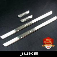 Wholesale Nissan Door Sills - Car-styling Stainless Steel Door Sills Scuff Plate fit for NISSAN JUKE 2010-2015 Dual Tone Door Sills