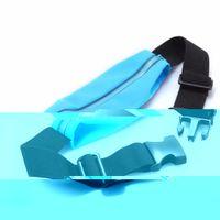 Wholesale Slim Waist Bag - Wholesale- Slim Running Cell Phones Chest Waist Fanny Pack Waterproof Sports Running Bag